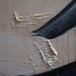 木彫看板 店舗看板 制作 和田彫刻所 修正中